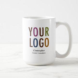 Marque de logo de Mug Custom Name Company des