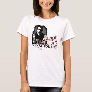 Marqué par le T-shirt de Dallas (dos de logo)