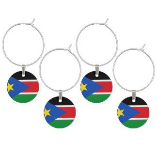 Marque-verres Drapeau du sud du Soudan