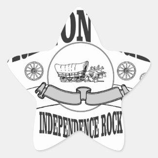 Marqueur de roche de l'indépendance ouais sticker étoile