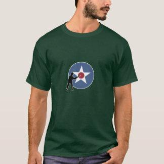 Marqueur et infanterie de pays d'A&A Etats-Unis T-shirt