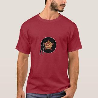 Marqueur et infanterie de pays d'A&A URSS T-shirt