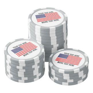 Marqueurs faits sur commande de boule de golf - rouleau de jetons de poker