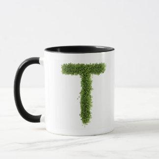 """Marquez avec des lettres """"T"""" en cresson sur Mug"""