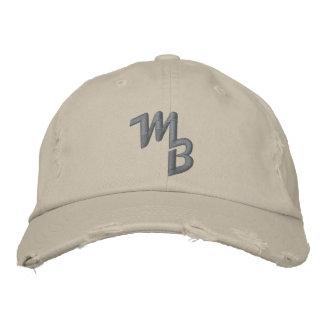 Marquez le casquette de boule de logo de Barnhill