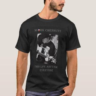 Marquez le T-shirt des hommes de Chesnutt