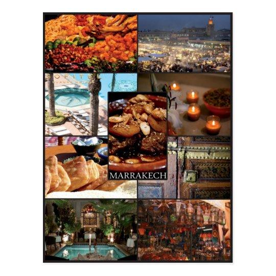 Marrakech - Maroc - Carte postale