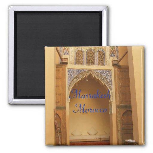 Marrakech, Maroc Magnets Pour Réfrigérateur