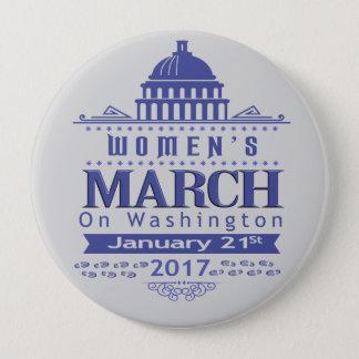 Mars de million de femmes sur le Pin de bouton de Badge