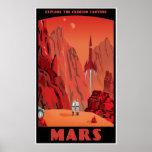 Mars : grande version poster