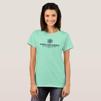 Mars pour la menthe du T-shirt des femmes de base