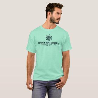 Mars pour la menthe du T-shirt des hommes de base