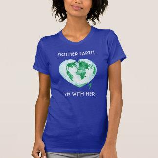 Mars pour la pièce en t de la Science - Terre, je T-shirt