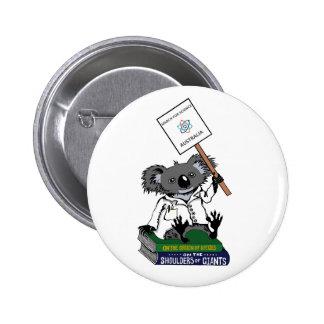 Mars pour la Science Australie - koala - Badges