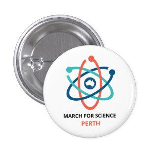 Mars pour la Science - Perth - Badges