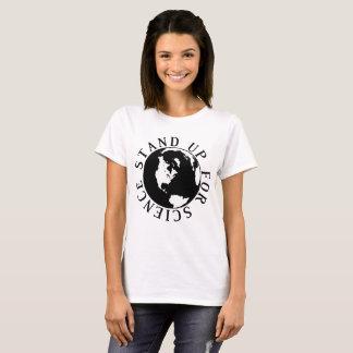 Mars pour la Science se lèvent pour le T-shirt de