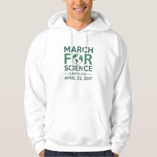 Mars pour la Science Veste À Capuche
