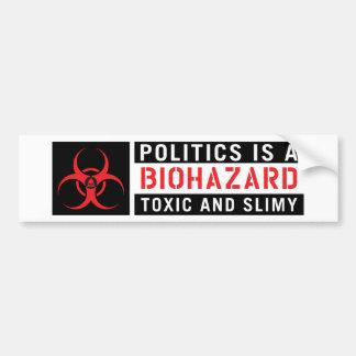 Mars pour le Biohazard de la Science Autocollant De Voiture