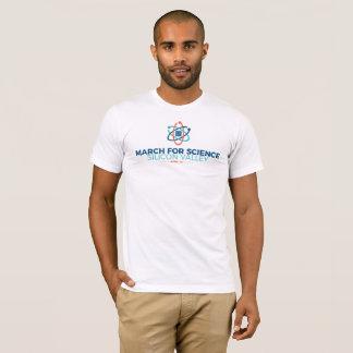 Mars pour le blanc du T-shirt des hommes du SV de
