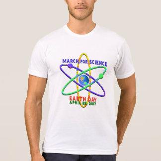 Mars pour le jour de la terre de la Science le 22 T-shirt