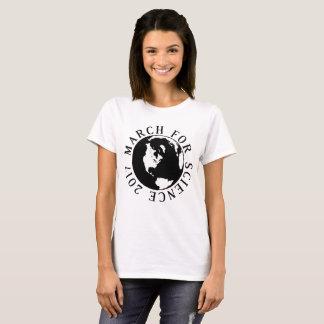 Mars pour le T-shirt de la terre de la Science
