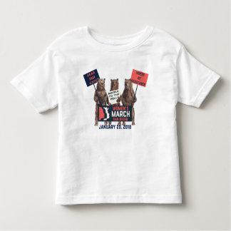 Mars San Diego des femmes soutient le T-shirt