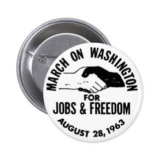 Mars sur Washington 1963 Badge