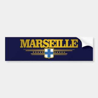 Marseille Autocollant De Voiture