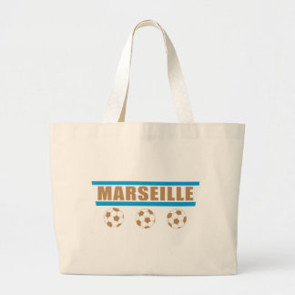 Marseille foot sac en toile jumbo