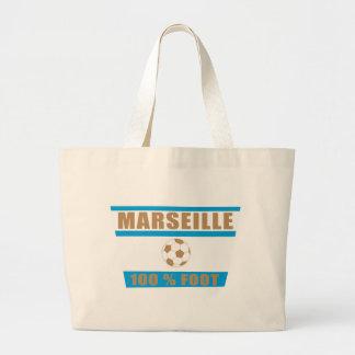 Marseille football sac en toile jumbo