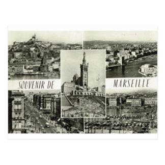 Marseille, multiview tôt cartes postales