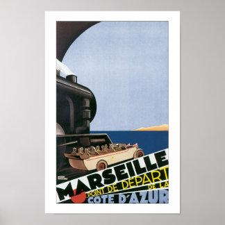 Marseille - Point de Depart Posters