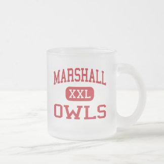 Marshall - hiboux - lycée - Marshall Missouri Tasse Givré