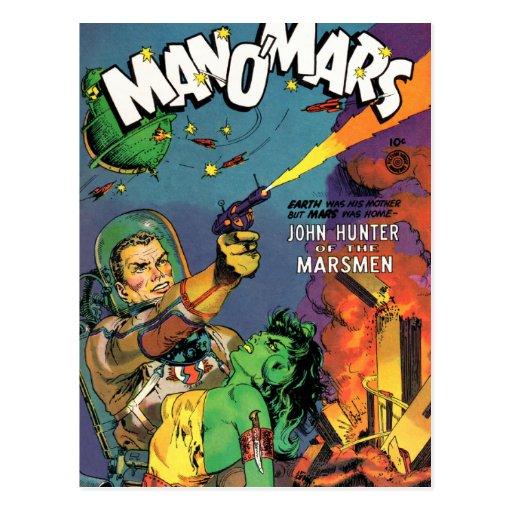 Marsmen Carte Postale