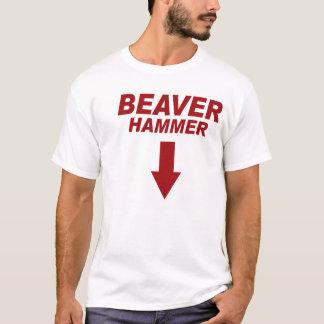 Marteau de castor t-shirt