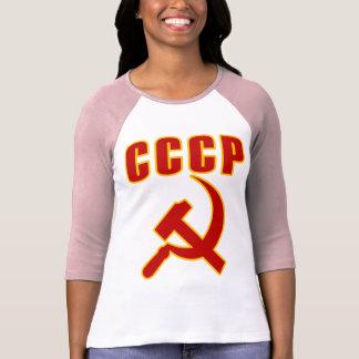 marteau et faucille de l URSS de cccp T-shirt