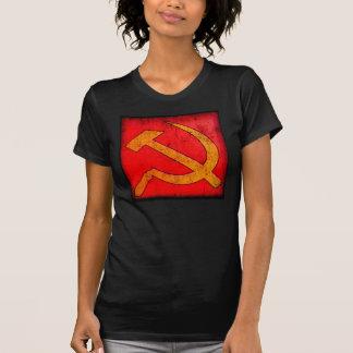 Marteau et faucille rétros t-shirt