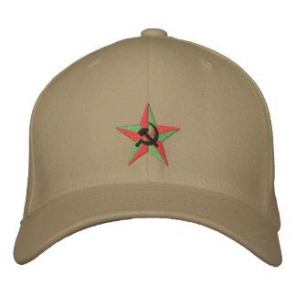 Marteau et faucille soviétiques d'étoile casquette brodée