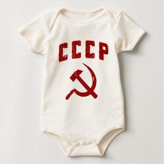 marteau vintage et faucille de l'URSS de cccp Bodies Pour Bébé
