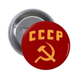 marteau vintage et faucille de l'URSS de Russe de  Badges Avec Agrafe