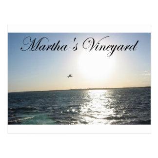 Martha's Vineyard 2 Cartes Postales