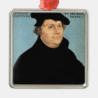 Martin Luther, c.1532 Ornement Carré Argenté