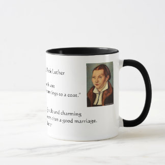 Martin Luther et mariage de Katie Luther Tasses