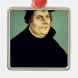 Martin Luther Ornement Carré Argenté
