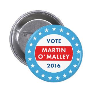 Martin O'Malley 2016 Pin's