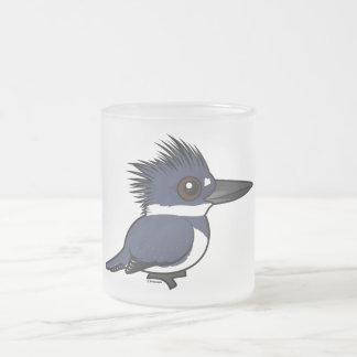 Martin-pêcheur ceinturé de Birdorable (mâle) Tasse Givré