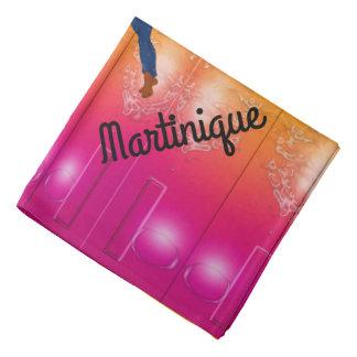 Martinique sunset beauty bandana