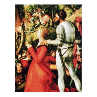 Martyre de St Catherine Cartes Postales