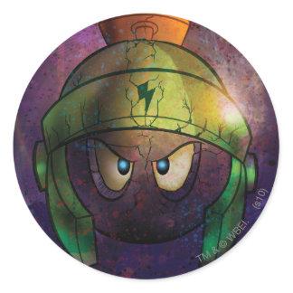 Marvin la bataille martienne durcie autocollants