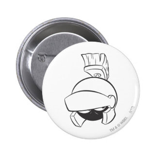 MARVIN le MARTIAN™ 4 expressifs Pin's Avec Agrafe